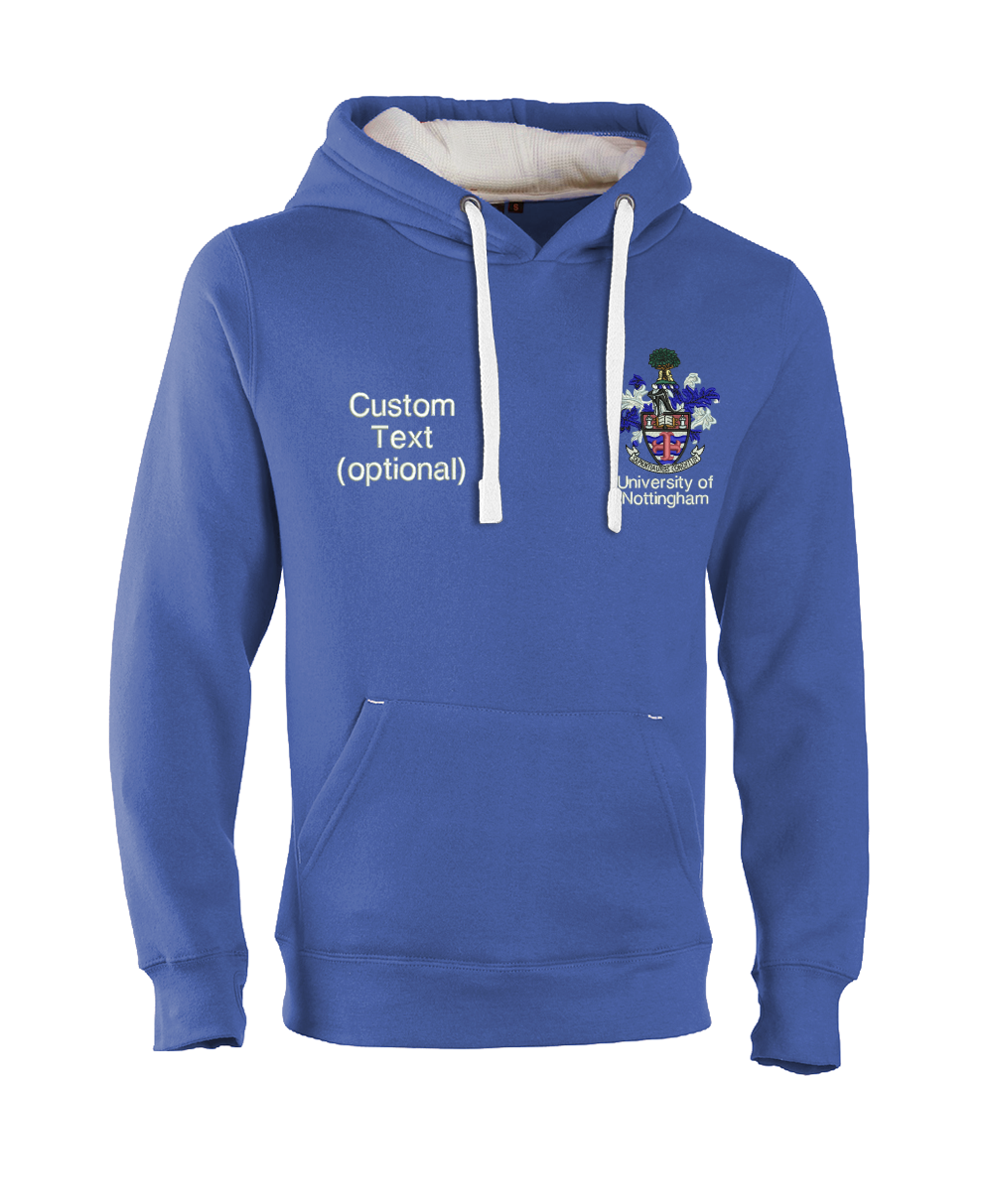 W89PF-Embroidered Ultra Premium Hoodie-Nottingham Ultra Soft Feel Hooded Top